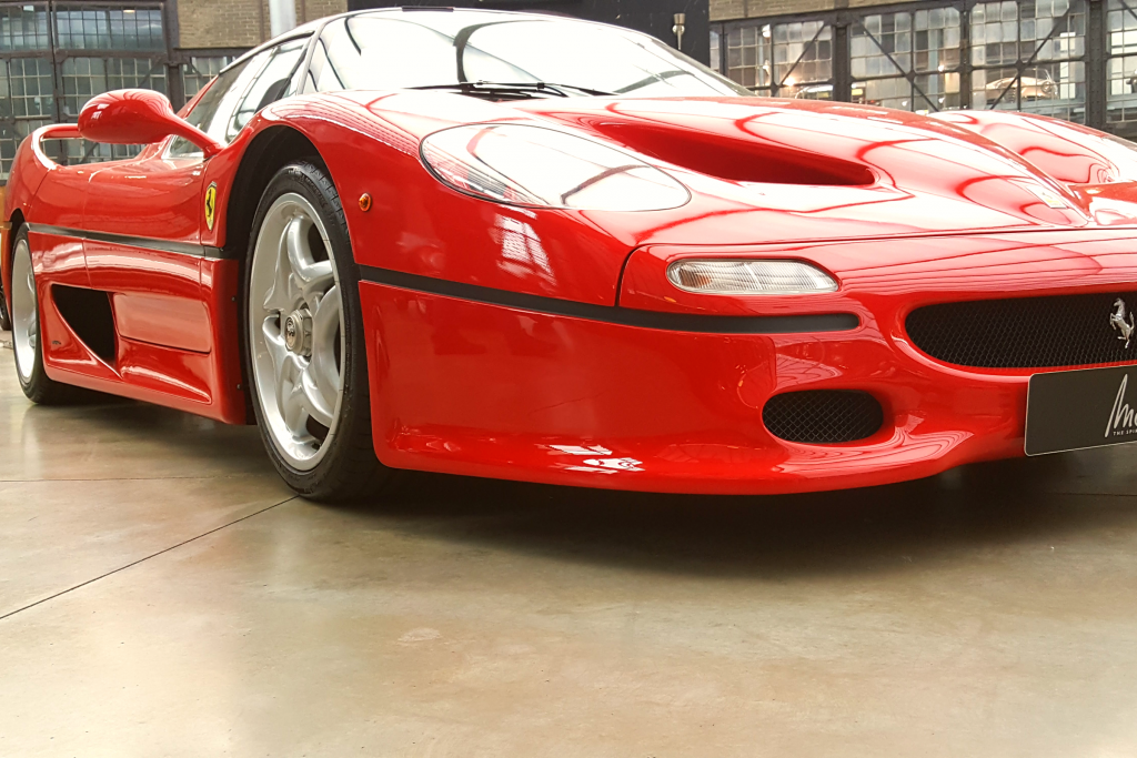 1996 Ferrari F50 at Classic Remise Düsseldorf, Germany Photo Courtesy of Patrick T Cooper