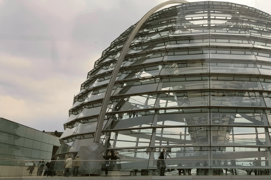 The Reichstag Building is a majestic presence in Berlin's city center Photo Courtesy Patrick T Cooper