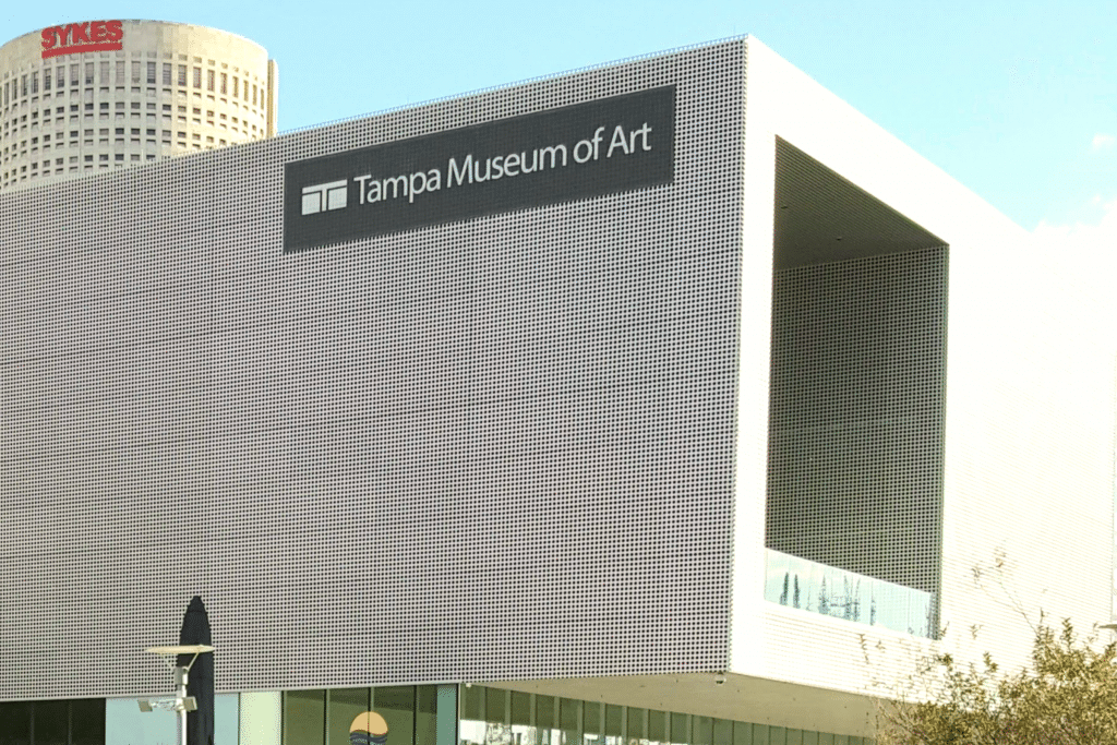 Tampa Museum of Art is a perfect cultural stroll Tampa, Florida Photo Courtesy Patrick T Cooper
