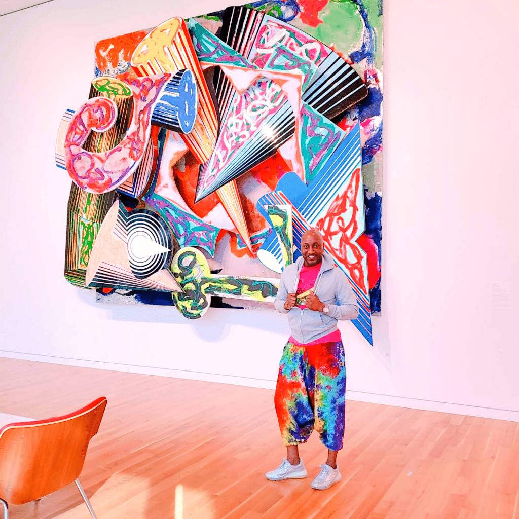 I found myself staring at art in the Columbus Museum of Art Columbus, Ohio Photo Courtesy Patrick T Cooper